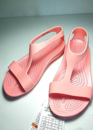 Crocs serena sandal босоножки w4 20-21см оригинал