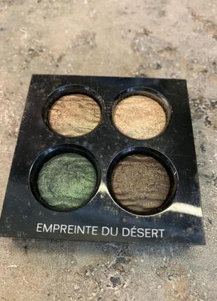 Chanel les 4 ombres multi effect quadra eyeshadow empreinte du desert, тестер, оригинал