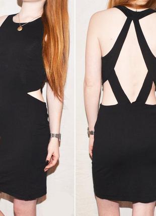 Платье с вырезами по бокам на талии asos5 фото