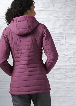 Удлиненная куртка reebok xs-s.оригинал.