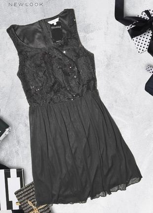 Новое платье с пайетками new look