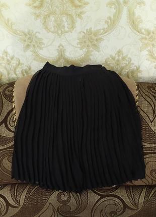 Женская стильная юбка плиссе