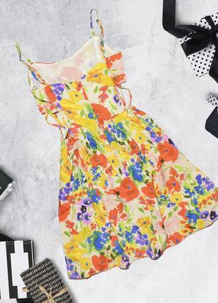 Яркое платье с разрезами по бокам atmosphere2 фото