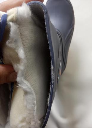 Детские резиновые сапоги, италия5 фото