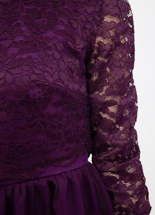 Платье женское цвет фиолетовый4 фото