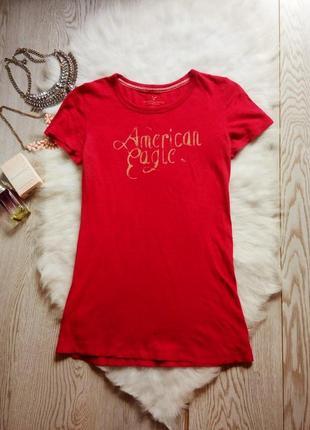 Малиновая футболка натуральная хлопок однотонная с принтом надписью розовая