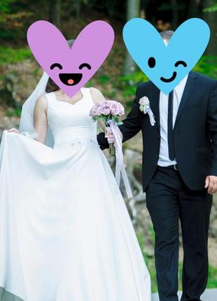 Нереально круте весільне плаття !