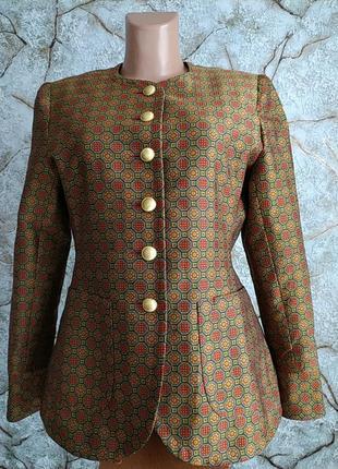Дизайнерский  пиджак жакет винтаж christiane kovitz paris