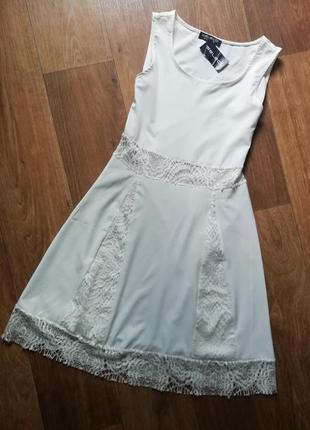 Платье с кружевом, сукня, сарафан, плаття