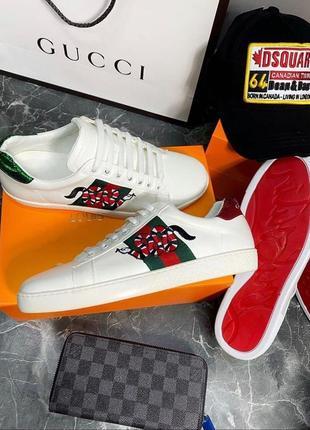 Gucci кеды кроссовки
