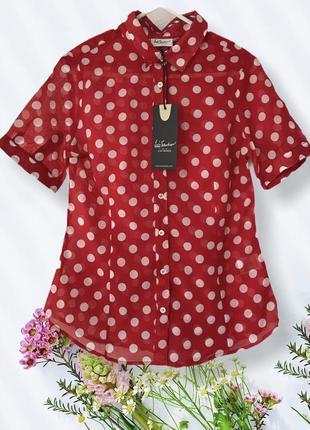 Vip ♥️♥️♥️ хлопковая блузка luis trenker.