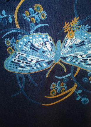 Стильная блуза-рубашка большого размера, uk 18, наш 52-54 размер4 фото