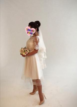 Свадебное платье, белое платье, весільна сукня, платье на выпуск
