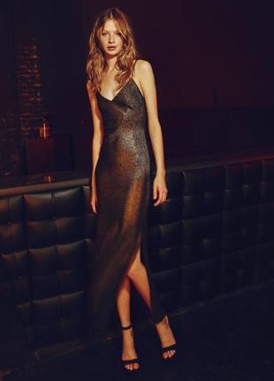Вечірнє плаття від bershka