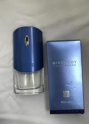 Givenchy pour homme blue label 100 мл