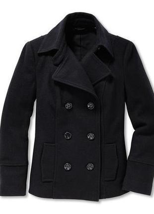 Шерстяное короткое пальто-жакет tcm tchibo2 фото