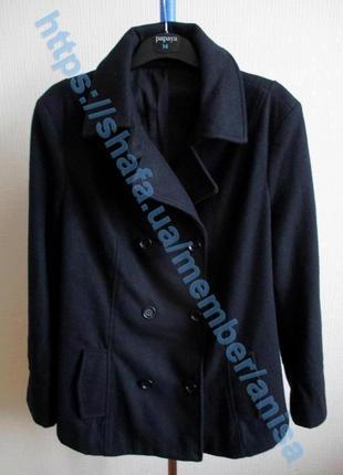 Шерстяное короткое пальто-жакет tcm tchibo6 фото