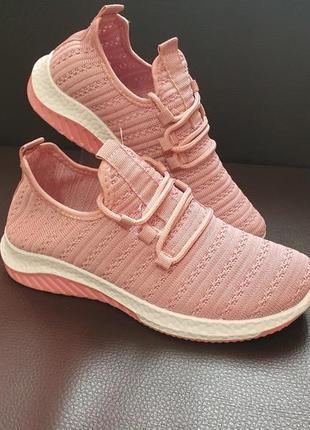 Летние текстильные кроссовки