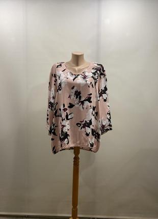 Блуза из вискозы plus size