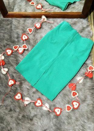 Юбка декорирована оборкой3 фото