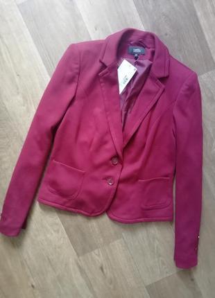 Стильный пиджак цвета марсала, жакет, блейзер