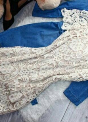 Кружевное платье forever