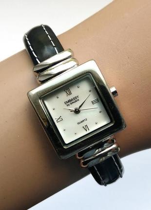 Embassy by gruen перламутровые часы-браслет из сша мех. japan sii
