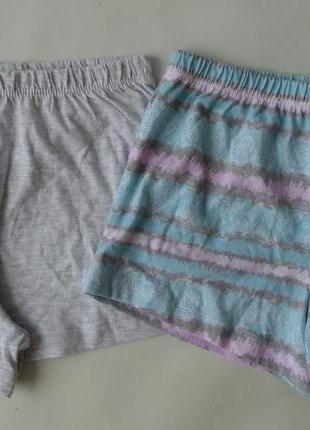 Набор 2 ед. пижама пижамные шорты primark англия 4-5 лет 110 см