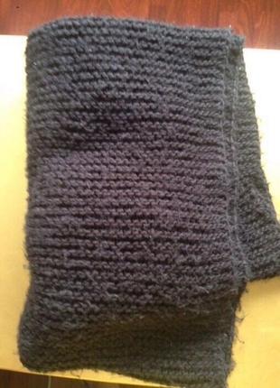 Стильный шарф хомут снуд