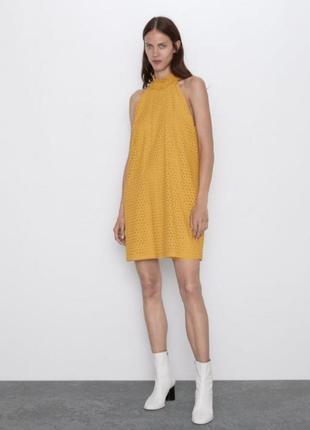 Платье прошва  zara текущая коллекция