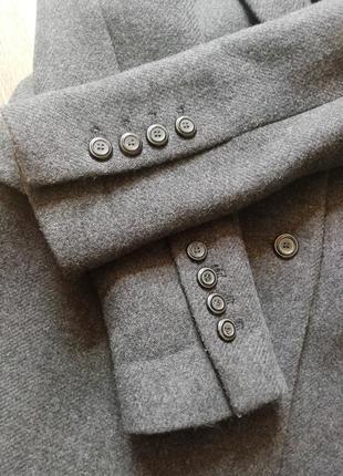 Zara трендовое шерстяное пальто6 фото