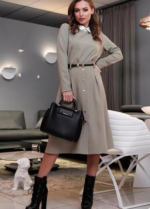 Роскошный деловой костюм юбка блуза