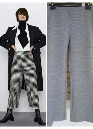 Женские укороченные брюки зара