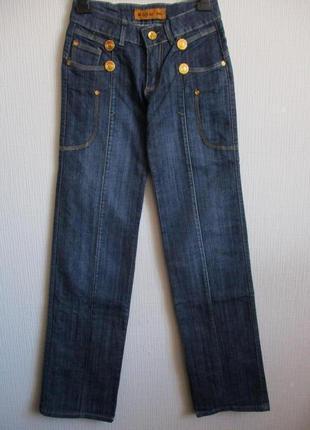 Распродажа! синие джинсы прямого покроя