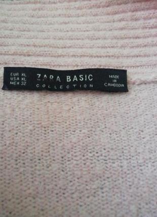 Стильный кашемировый кардиган, кофта, накидка, пудрового цвета, пиджак, жакет, блейзер4 фото