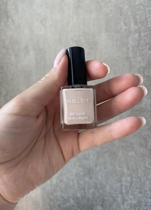 Новый лак для ногтей нежно-розовый inglot