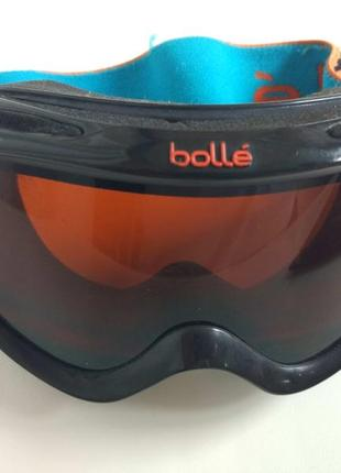 Детские лыжные очки маска сноуборд bolle  на 3-8 лет