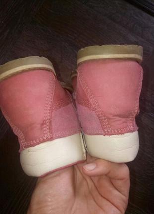 Демисезонные ботинки  ,нубук кожа3 фото