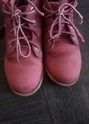 Демисезонные ботинки  ,нубук кожа5 фото