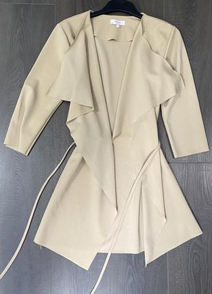 Пиджак жакет накидка2 фото