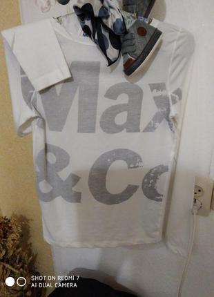 Бомбезна брендова футболочка лонґслів max&co