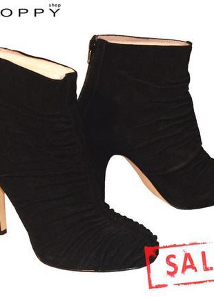 Ботинки из кожи, nine west