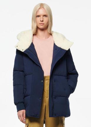 Демисезонная куртка andrew marc sarawee. размер xl большемерит оригинал сша