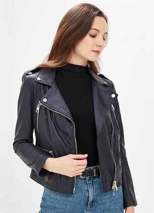 Куртка-косуха чёрная