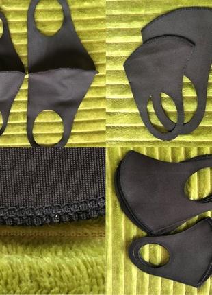 Защитная маска лица не медицинская pitta8 фото
