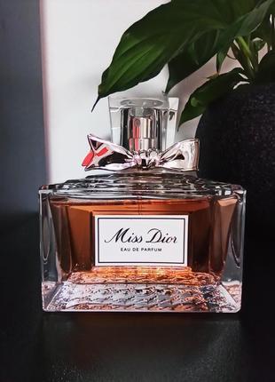 Miss dior eau de parfum (розпив 5мл, 10мл, 15мл, 20мл) оригінал, особиста колекція!!!2 фото