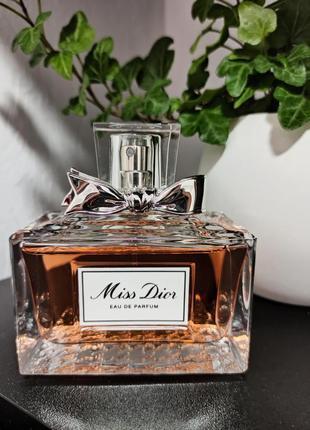 Miss dior eau de parfum (розпив 5мл, 10мл, 15мл, 20мл) оригінал, особиста колекція!!!3 фото