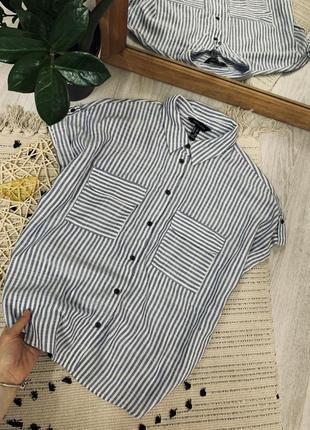 Рубашка на ґудзиках від new look🌿3 фото