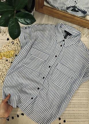 Рубашка на ґудзиках від new look🌿4 фото