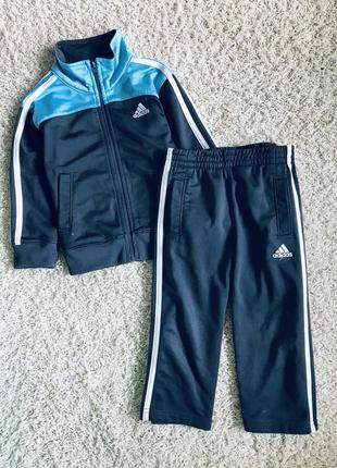 Спортивный костюм на мальчика 2 года adidas